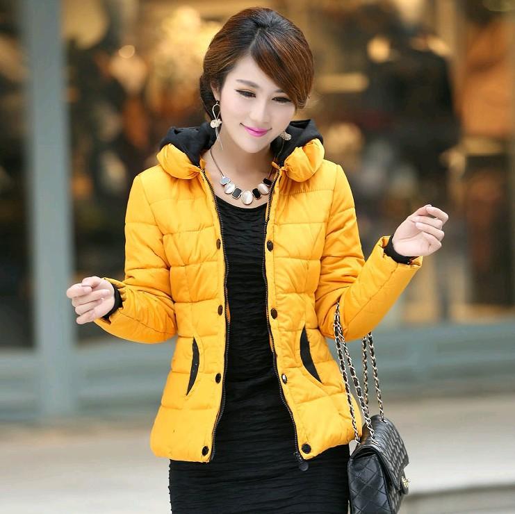 Free shipping women coat slim design hooded short jackets plus size super warm women's winter jackets LW270(China (Mainland))