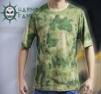 Free shipping outdoor camouflage men sports t-shirt men short-sleeve t shirt military summer t shirt men fitness tops