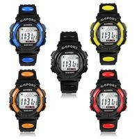 2014 New Superb  Boy's Digital LED Quartz Alarm Date Sports Waterproof Wrist Watch Free Shipping&Wholesale Alipower