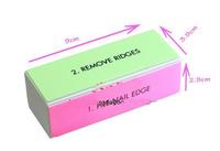 5pcs/lot  Nail Art Polishing pad Sponge File Sanding Block Four Sided Nail Buffer Polish Files
