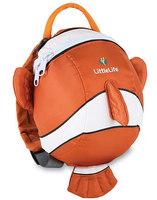 UK design Fashion Little Life baby backpack 3D carton kids school backpacks NEMO baby travel bag w/ Safety Kid Harness Strap