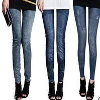 2014 winter women jean  leggings fitness casual leggins ladie's clothes free shipping U572