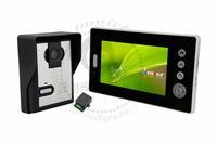 Wireless Color Video Door Phone Intercom Doorbell 3.5 inch 2.4GHz 1 Monitor 1 Camera e_shop2008