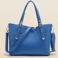 New 2015 women handbag fashion shoulder bag hot women messenger bag big capacity women leather handbag casual crossbody bags
