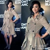 Fashion Women Trench Coats Free Shipping Lady Slim Overcoat Sexy Outdoor Windbreaker Rain Brand Outerwear