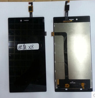 100% Original LCD For Iocean X8 LCD Display Touch Screen Digitizer Replacement Repair Parts Panel