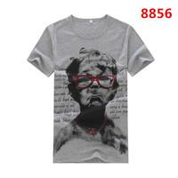 Summer Tees Fashion Man  t shirt Cotton Sport t-shirt Men's Tee Shirts Casual short Sleeve Shirt Plus Size