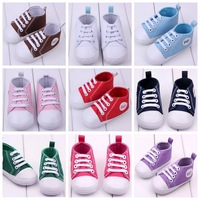 Classic canvas baby shoes baby toddler shoes soft bottom multicolor KZ325