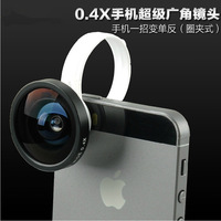 Universal Loops Clip 180 degree Detachable Fisheye Lens Camera For iPhone 4 4s 5 HTC Samsung Galaxy S3 Note2 I9300 Lumia920