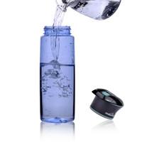 Mountop Portable Outdoor UV 750ml Water Purifier Bottle(Blue)