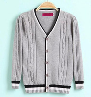 Cotton Children Sweaters Thickening Sweater Coat  Child Autumn Winter Free Ship