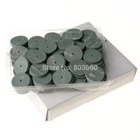 1Box/100pcs Dental Lab Rubber Polishing Wheels Burs Silicone Polishers as seen tv products
