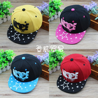 HT-1317 free shipping fashion NIE letter style  boys/girls/kids/children's baseball caps / flat /visors  hat