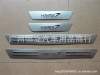 Knight threshold of the hippocampus Knight Rider 2011 new stainless steel door sill threshold of