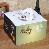 Square Wedding Candy cake decorating tools Box/cake box/chocolate box with ribbon Cake Tool Bakeware Tools Free Shipping