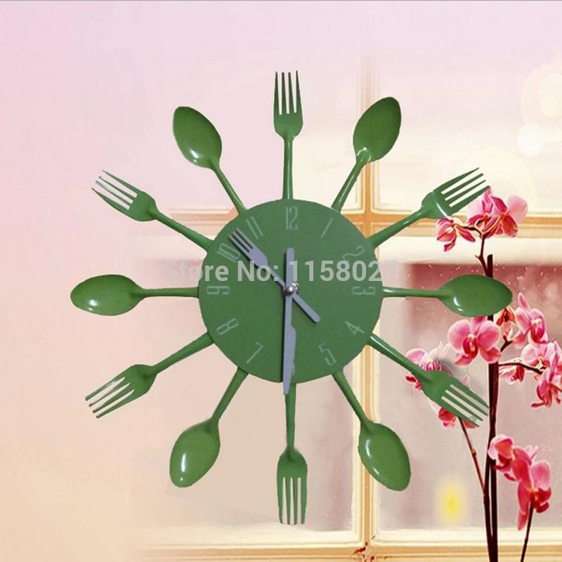 Creative household adornment wall clock DIY metal decorative clocks and watches Creative clock wall clock personality