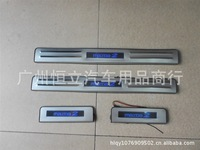 Cupid Cupid LED stainless steel door sill threshold of the hippocampus hippocampus 2 LED light pedal