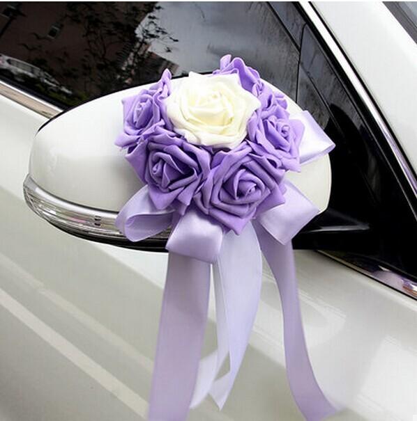 Украшения цветы для свадебной машины своими руками