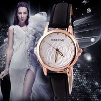 2014 Fashion Wristwatches Women Dress Watches Luxury Brand Leather Strap Watch Women Casual Quartz Watch QZ4296