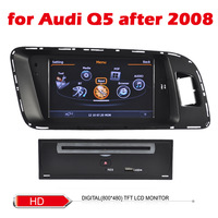 Car DVD for Audi Q5 after 2008  radio 1G CPU WIFI 3G Host S100 Support DVR 7 inch screen audio video player Free shipping