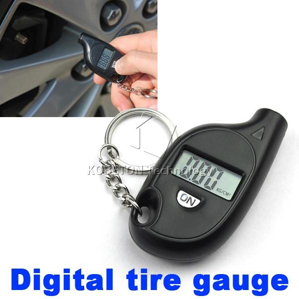 Durable 2-150 PSI Mini Digital Car Auto Tire Air Pressure Gauge Tester Motorcycle Tyre Meter , LCD display(China (Mainland))