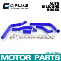 SILICONE RADIATOR HOSE KIT FOR Honda CR125 CR 125 2005-2008 BLUE