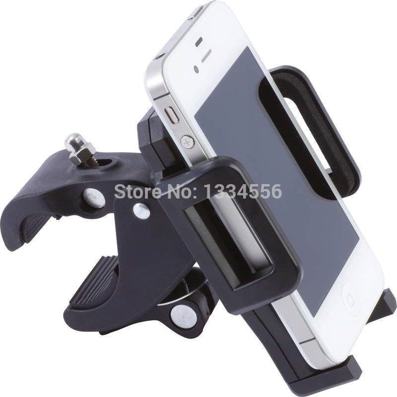 Universal Adjustable PHONE Metal HOLDER Motorcycle Bike Bicycle Handlebar Mount for Samsung Galaxy S3 S4 S5 Note 2 3 LG G1 G2 G3(China (Mainland))