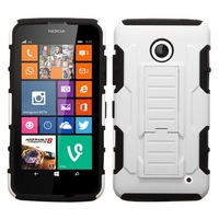 Dual Layer Hybrid Armor Belt Clip Holster With Kickstand Hard Skockproof Cover Case For Nokia Lumia 635 630,Free Shipping