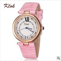 KLOK brand, fashion, waterproof, women casual watches ,women dress watches