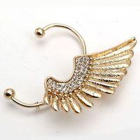 Fashion punk style  wings of the Angel Stud Earrings,women ear cuff