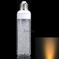 V1NF 102 LEDs 6W F5 Light Bulb 110V E14 Warm White Flat Lamp Powerful