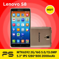 "5.3"" Original Lenovo S8 + Mofi Flip Case + Screen Protector + Plug Adapter if necessary + Multilang-ROM updating Service"