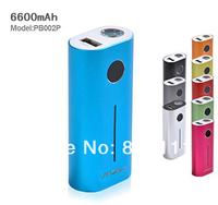 lithium battery USB power bank PB-002P(6600mAh) with original samsung battery