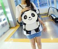 2014 fashiom print backpack women backpack small female PU backpack school bag Free Shipping