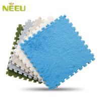 Trophonema neeu foam mats puzzle carpet velvet mats foam hair pad 30cm*30cm