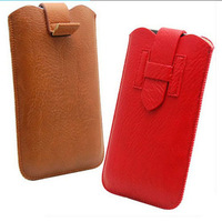 H Style Leather Pouch phone bag case For huawei Ascend G700 G610 G610C Cell Phone Bags Cases Accessories