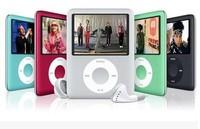 8GB Slim Mp3 music Player with LCD Screen, FM Radio & Movie Player