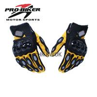 Wholsale Pro-biker MCS-08 Full Finger Racing Motorcycle Driving Windproof Gloves G87 M/L/XL 4 color Free Ship