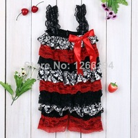 2014 New Arrival Newborn Lace And Satin Ruffle Rompers Summer/Autumn Toddler Girl Fashion Style Romper Free Shipping
