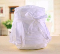 Baby diapers leak-proof breathable pocket / neonatal every diaper baby diapers gauze pants