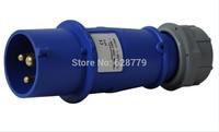 120X IP44 industrial plug T-013B 3pin 16A plug