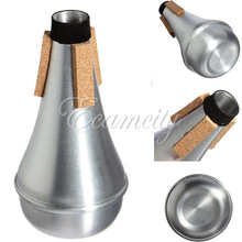 Aluminum Practice Trumpet Straight Mute For Trumpets Instrument Jazz Music Free Shipping(China (Mainland))