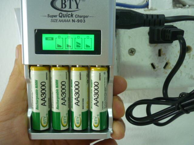 4pcs 1.2v AAA 1350mAh+4pcs AA 3000mAh NiMH Ni-MH Rechargeable Battery+LCD charger(China (Mainland))