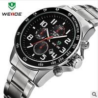 WEIDE brand,Explosion models, business waterproof quartz watch ,watches men luxury brand