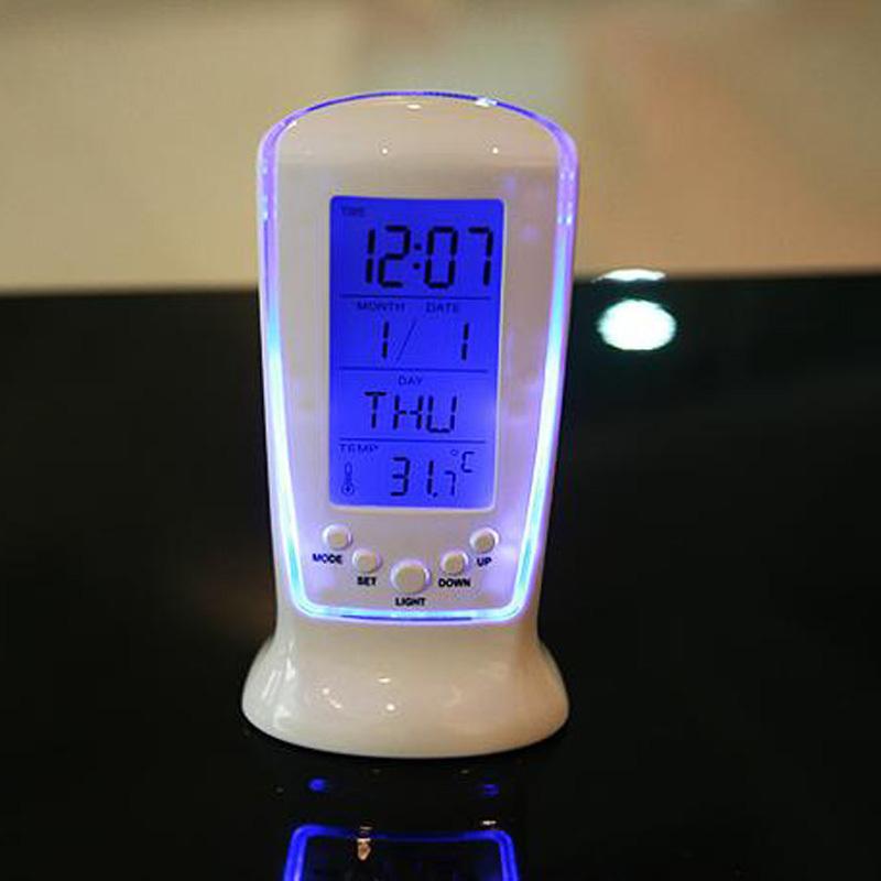 Clocks Frozen Led Digital Clock Despertador Minecraft Tnt Vibrating Bedside Alarm Clock Electronic Gift For Kids(China (Mainland))