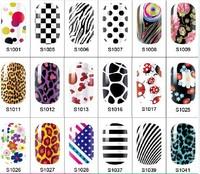 5Sheets  Nail Art Sticker  Ultrathin Environmentally Non-toxic Nail Polish Sticker Nail Decal Decoration
