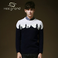 2015 New Arrival Men's Sweater Korean-style Casual Splicing  Pullover Sweater MZY019