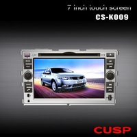 CS-K009 excellent Vehicle GPS with touch screen , dvd,cd player and Bluetooth music 5.1stereo surrond sound FOR KIA FORTE