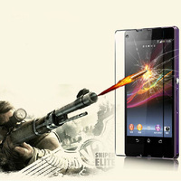 New 0.3mm Tempered Glass Film Screen Protector for Sony Xperia Z L36H Tonsee