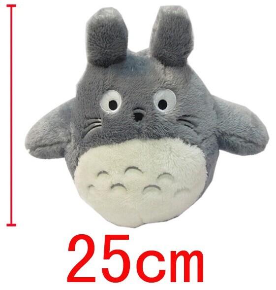 2014 neue mein nachbar totoro 25cm hoch grau totoro plüschpuppe